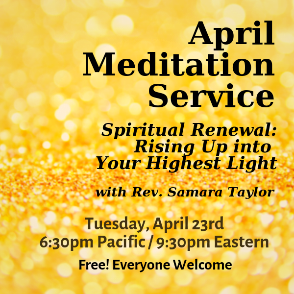 Spiritual Renewal: Rising Up into Your Highest Light. A Clairvoyant Meditation.