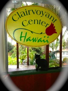 Clairvoyant Center of Hawaii sign