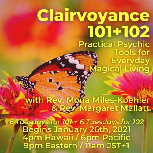 Clairvoyance 101 - January 2021