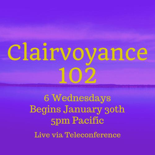 Clairvoyance 102 January 2018
