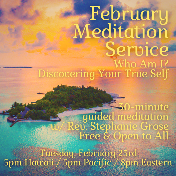 February 30-minute meditation service