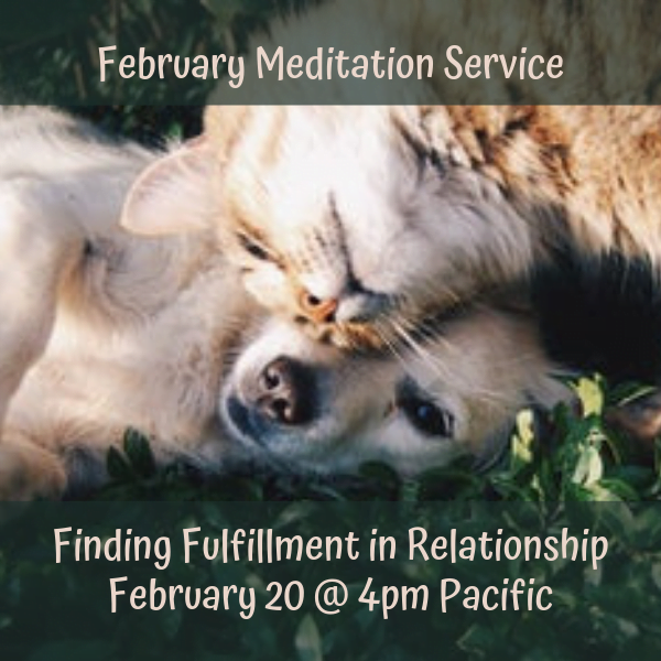 February Free Clairvoyant Meditation Service