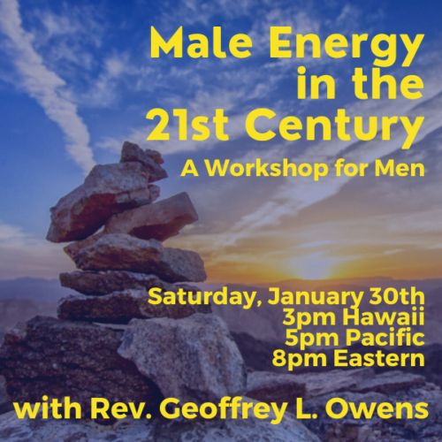 Male Energy in the 21st Century: A Clairvoyant workshop for men