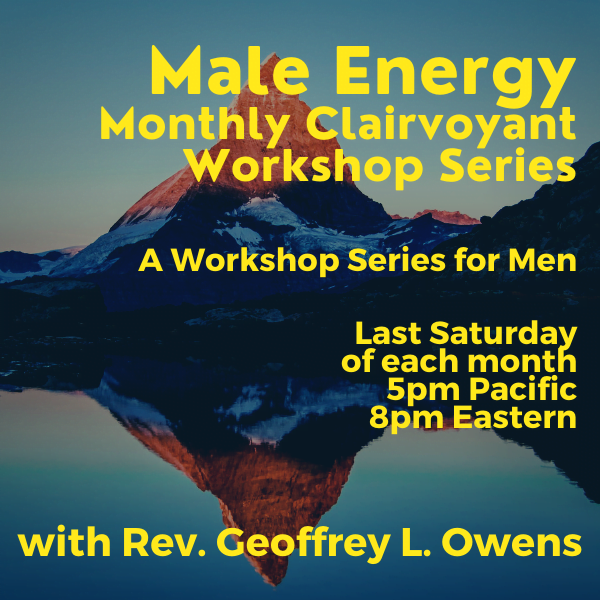 Male Energy Clairvoyant Workshop Series