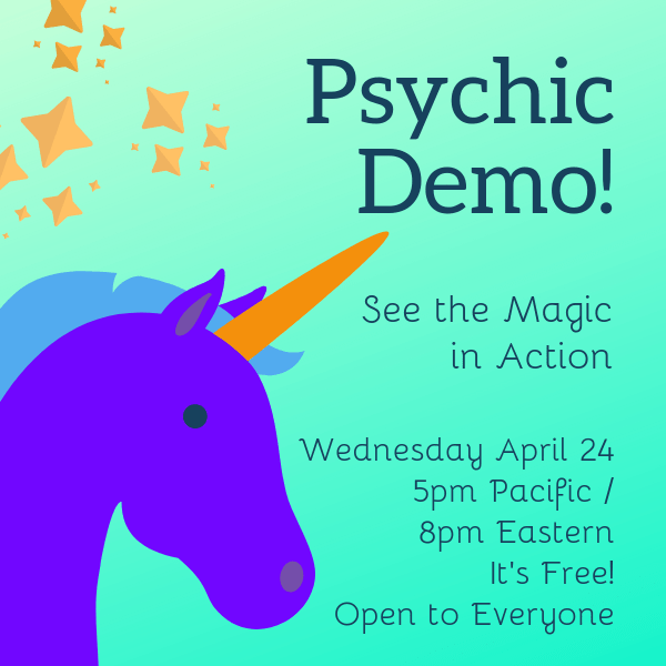 Psychic Abilities Demonstration April 2019