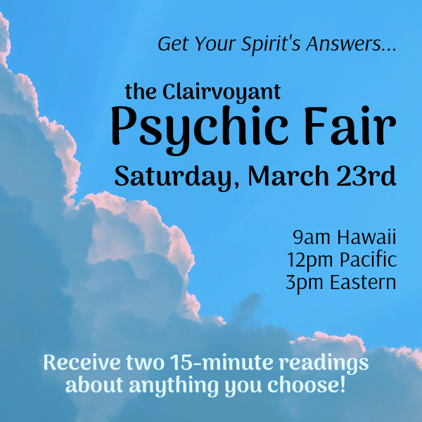 Online Psychic Fair March 2019
