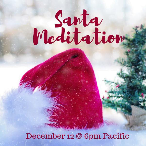 Santa Meditation Clairvoyant Class