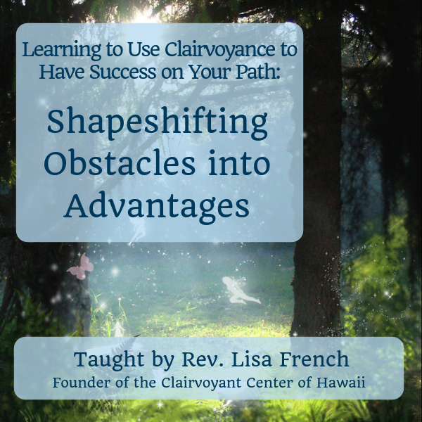 Shapeshifting Obstacles into Advantages