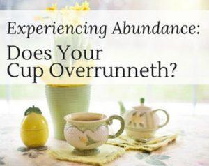 Experencing Abundance - Clairvoyant Workshop