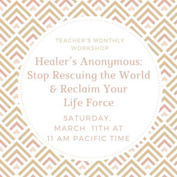 Healer's Anonymous - Clairvoyant Workshop