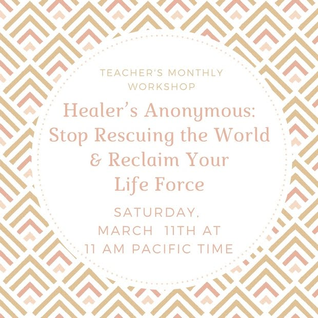 Healer's Anonymous - Clairvoyant Workshop