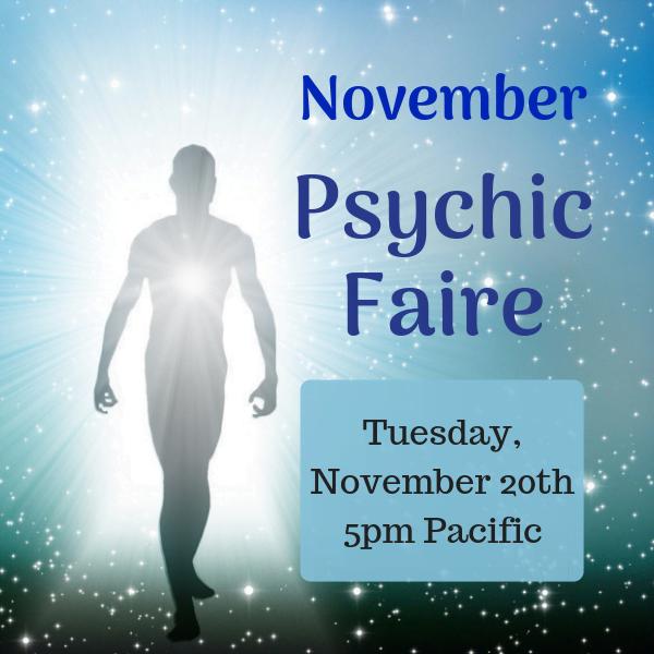 Psychic Faire 11/20/18